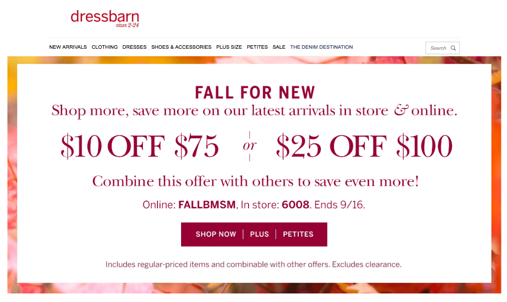Dressbarn Coupons 02