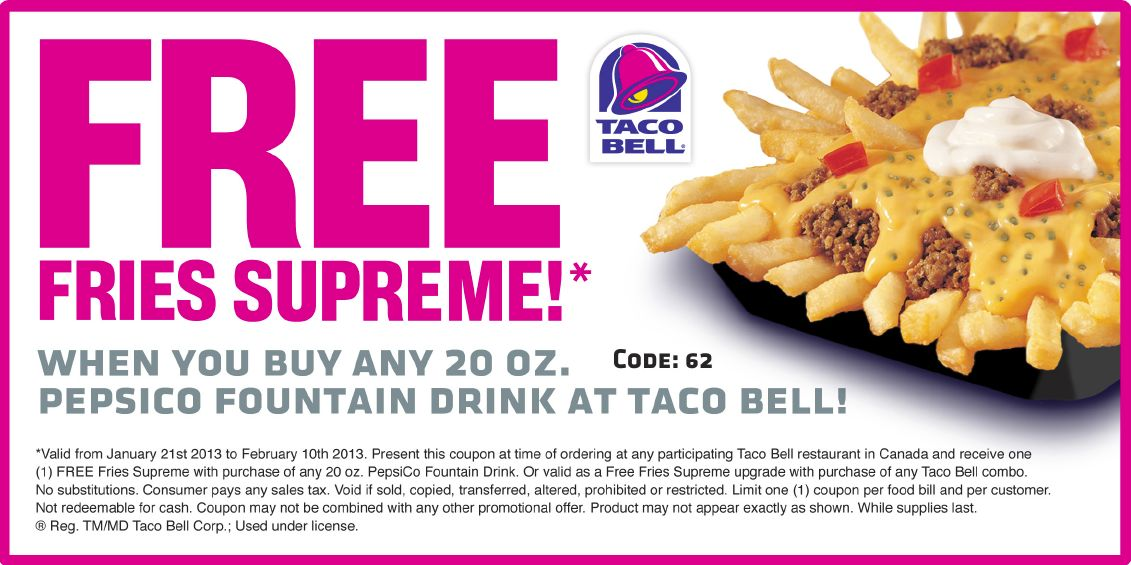 Taco Bell Coupons 01