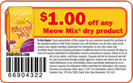 Meow Mix Coupons 01