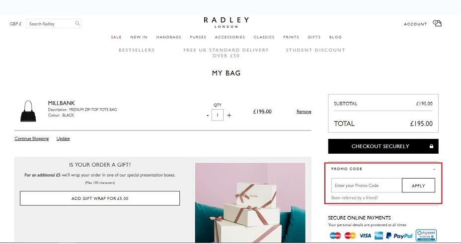 Radley London Coupons