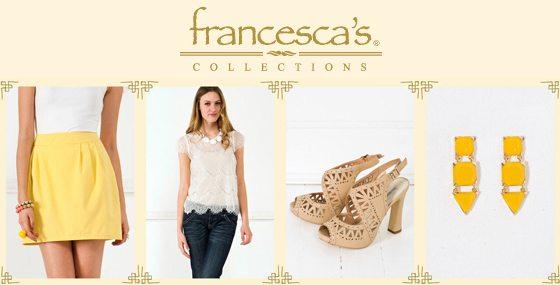 Francesca's Coupons