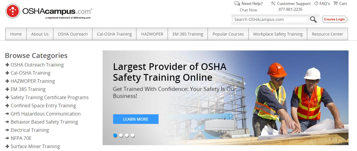 OSHA Campus Coupons